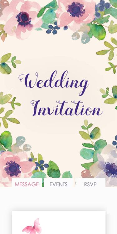 結婚式・披露宴・二次会のWeb招待状デザイン Claire クレア