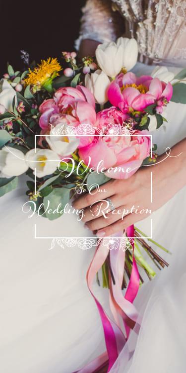 結婚式・披露宴・二次会のWeb招待状デザイン