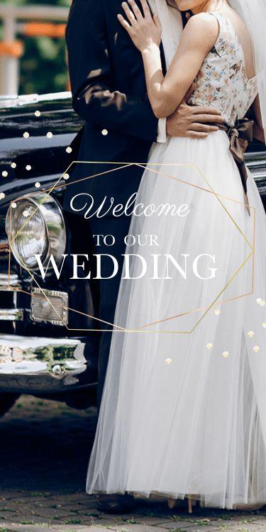 結婚式・披露宴・二次会のWeb招待状デザイン:イザベル isabel