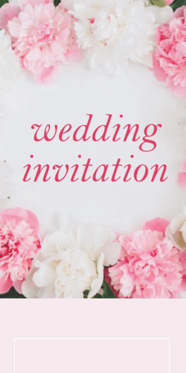 結婚式・披露宴・二次会のWeb招待状デザイン Karen カレン